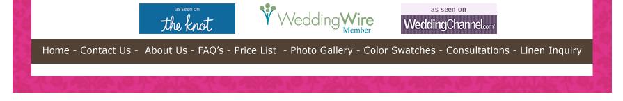 houston wedding party linen linens rental rentals tablecloths